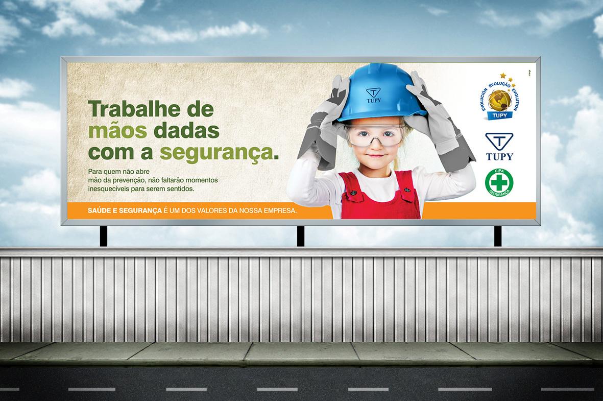 Campanha Segurança no Trabalho - Proteção das Mãos Tupy